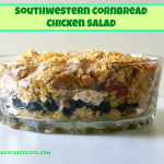 Southwestern Cornbread and Chicken Salad