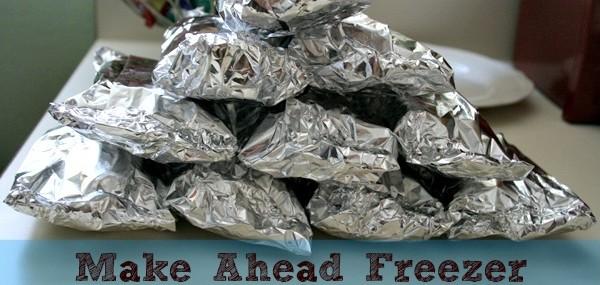 Make Ahead Meal ~ Freezer Burritos