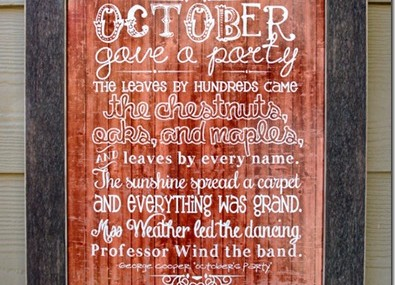"""October's Party"" Printable"
