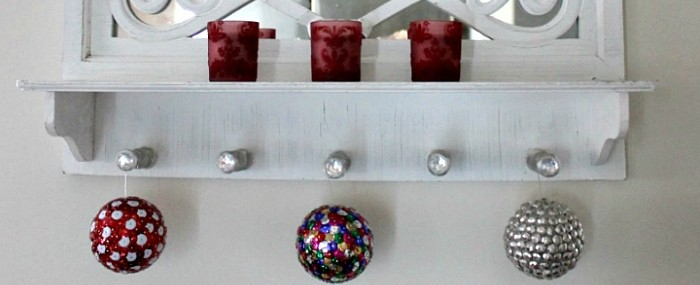 Sequin and Tack Ornaments