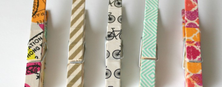 Washi Tape Chip Clips