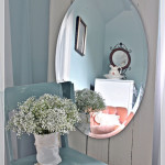 Create a Full Length Mirror from an Old Door