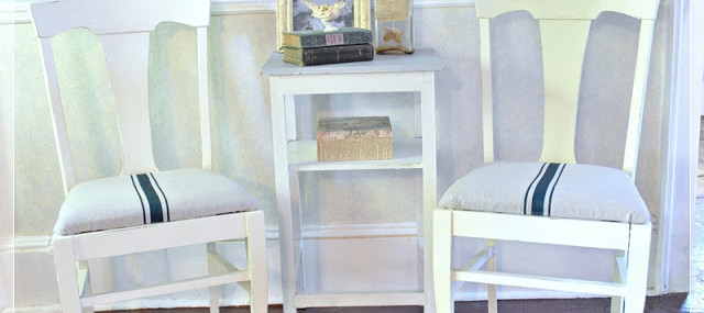A Makeover for Church Sale Chairs