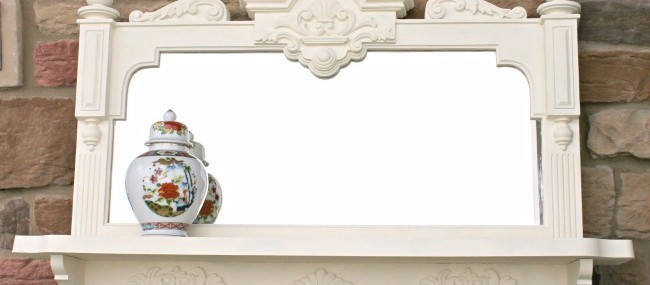 Paint it White: Mirror Makeover and 6 Other White Projects