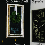 How To Create Decorating Interest with Opposites