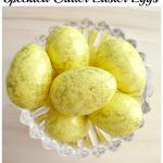Speckled Glitter Easter Eggs