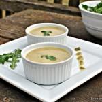 Lettuce Arugula Soup