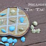 Seashells Tic Tac Toe