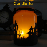 How to Make a Halloween Candle Jar